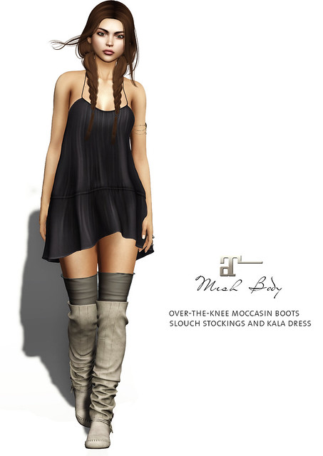 Maitreya Moccasin boots & Kala dress