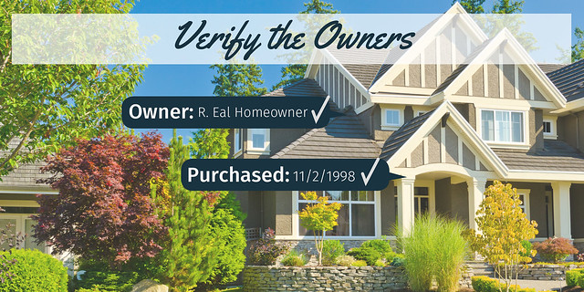 Verify the Owners of the property | Prevent Rental Scams