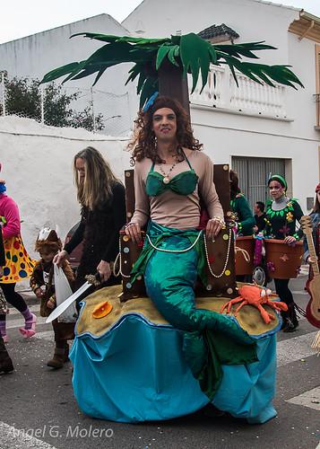 Sirena de carnaval