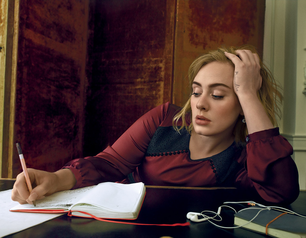 Адель — Фотосессия для «Vogue» 2016 – 2