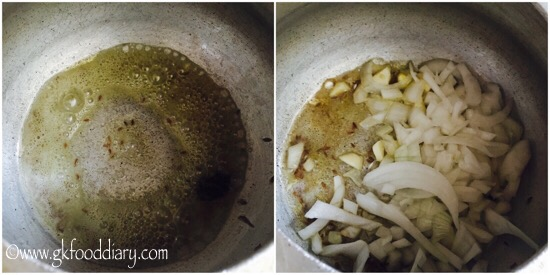 Spinach Khichdi Recipe for Babies, Toddlers and Kids - step 4