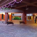 Foyer near swimming pool area