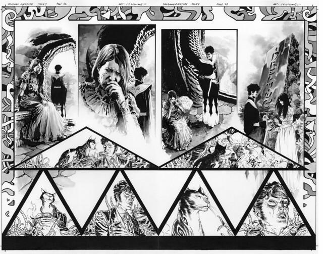 Sandman 3 pg 22 and 23