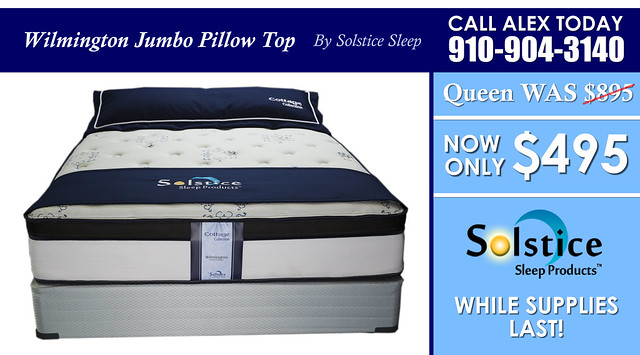 Wilmington Jumbo Pillow Special