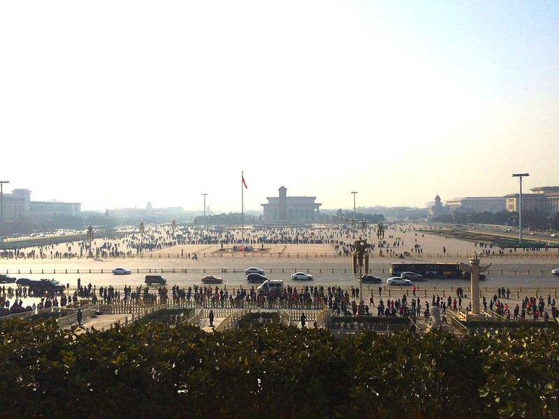 View of Tiananmen Square from Forbidden City
