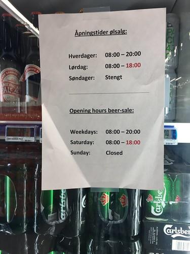 3 Mar - Curfew for sales of beer