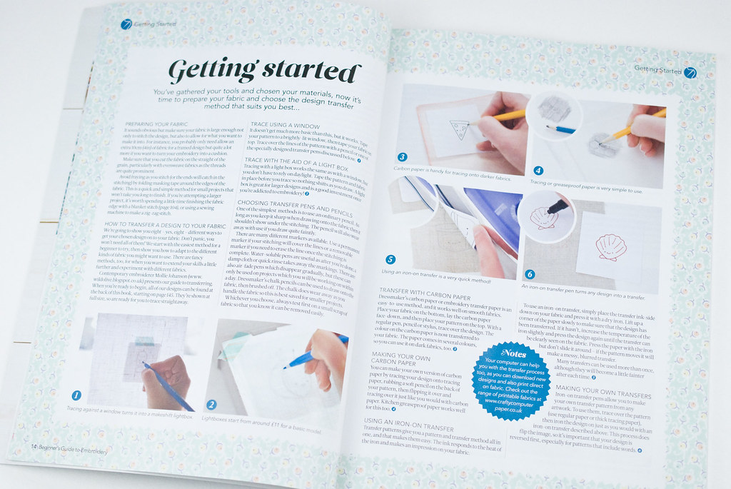 Beginner's Guide to Embroidery Bookazine