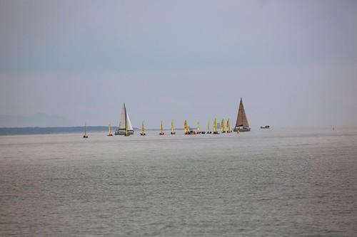 Porto di Anzio: una regata