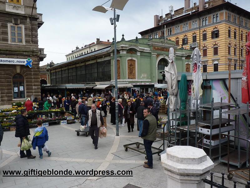 Rijeka, Marktplatz