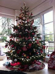 Christmas 2015 - Tree and Red & White decoration