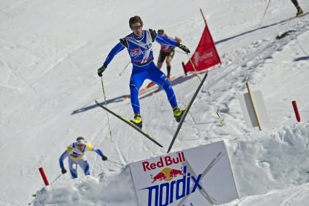 Dušan Kožíšek bere na Red Bull Nordix i přes pád stříbro
