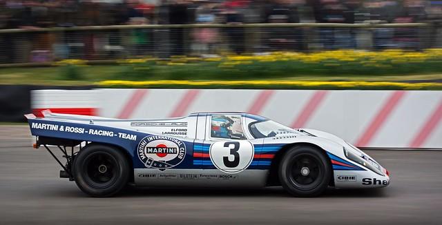 Christoph d'Ansembourg - 1970 Martini Porsche 917K  #020 - 2016 Goodwood 74th Members' Meeting
