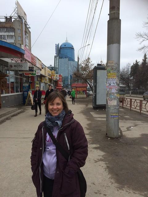 Stop in Samara