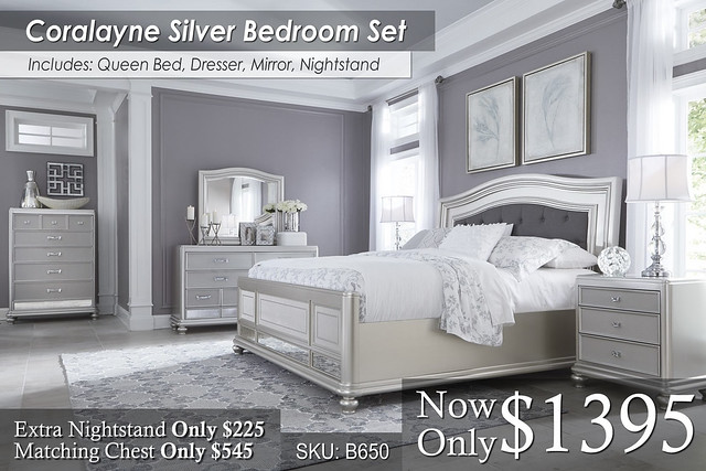 Coralayne Bed Set