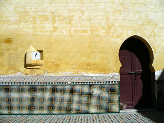 Meknes Morocco mausoleum moulay ismail