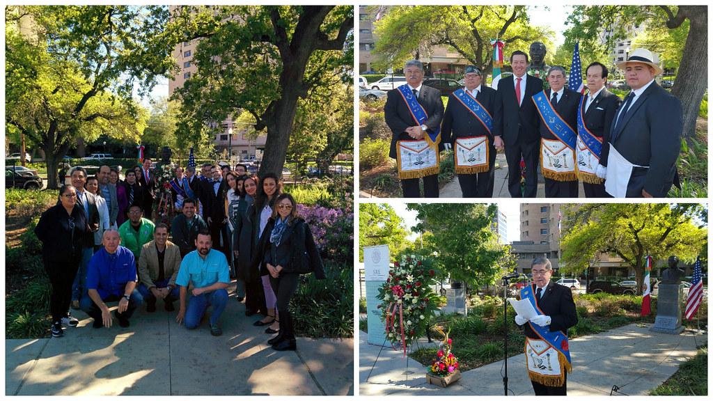 210 Aniversario del Natalicio del Benemérito de las Américas, Houston