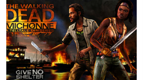 The Walking Dead - Michonne Episode 2 walkthrough