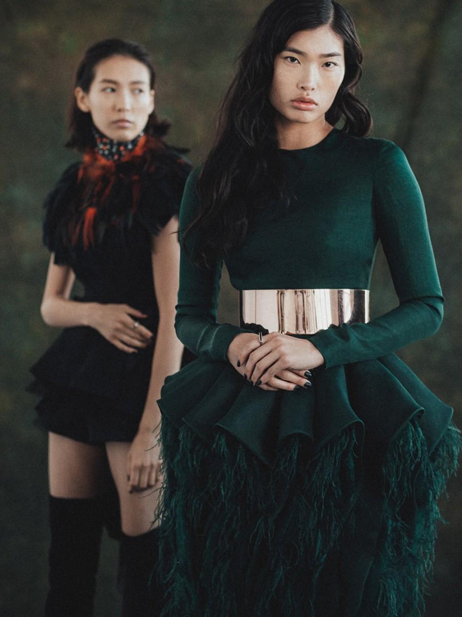 Asian Fashion Editorial