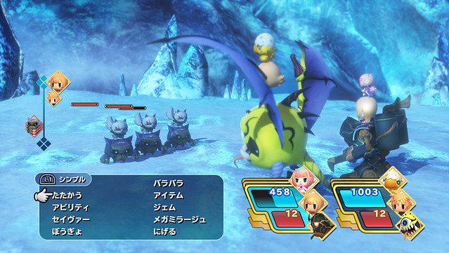 20160411 World of Final Fantasy - Leveling Up