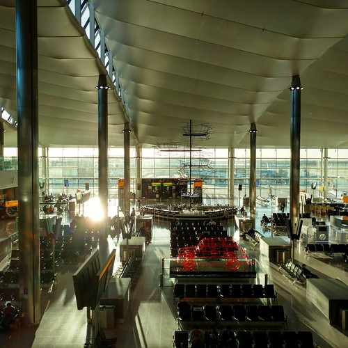 Heathrow Terminal 2 - flying to Geneva