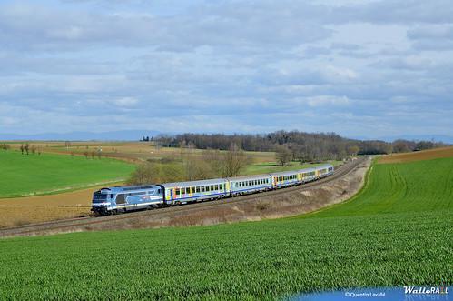 67519 sur le 830906 à Minversheim, le 29 mars 2016