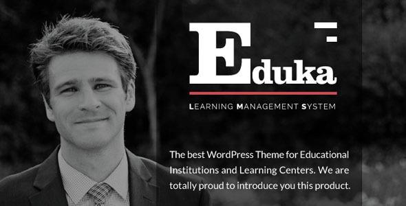 Eduka v1.0 - Education & University WordPress Theme