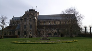 Romsey Abbey, northerly view