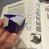"Continuing my ""ride"" on Kasahara's Origami Omnibus, I just folded this cool #origami six-sided #die . I should use a pair of these origami dice the next time I play Settlers of Catan..,"