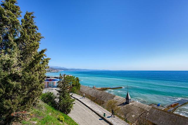 Black Sea in April