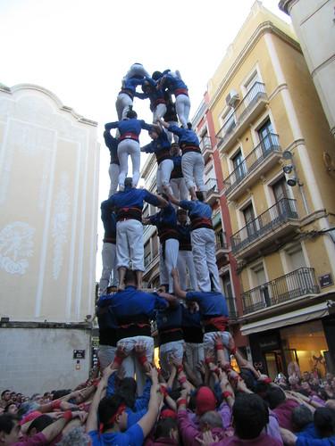 Diada d'Aniversari dels Castellers de Lleida, 2016