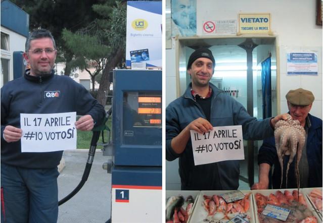 referendum polignano benzinaio pescivendolo