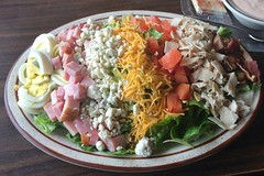 COBB SALAD COUNTRY KITCHEN SALINAS CA.