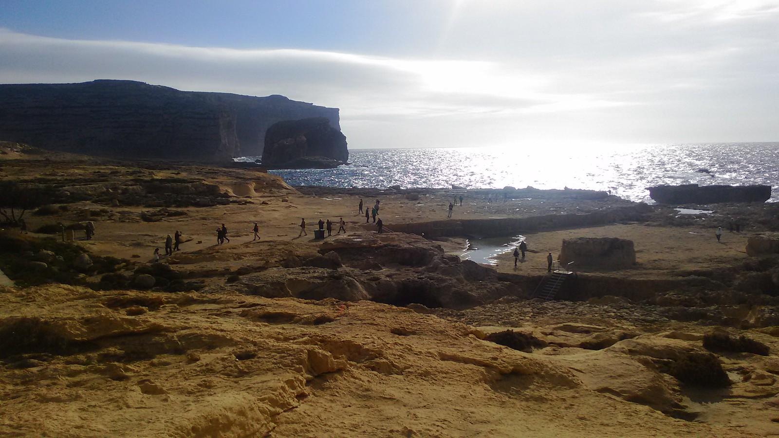 Dwejra Bay a Gozo