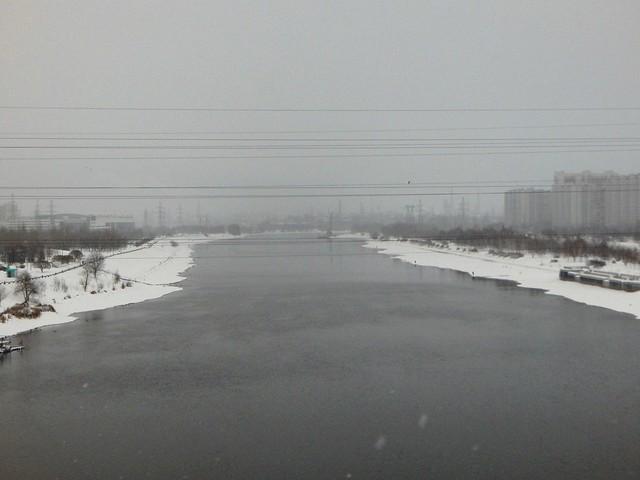 Москва-река зимой | ХорошоГромко.ру