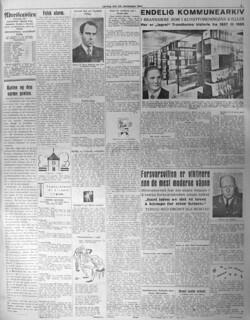 Endelig kommunearkiv i brannsikre rom i Kunstforeningens kjeller (1947)