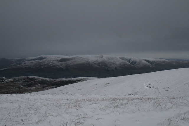 The Howgills from Calf Top