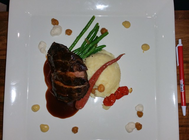 2016-Jan-22 Burnaby Mountain Clubhouse - Dine Out Vancouver 2016 - flatiron steak