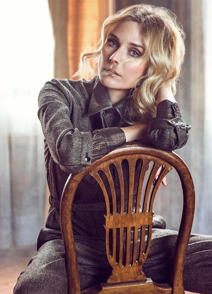 Диана Крюгер — Фотосессия для «Glamour» IT 2015 – 8