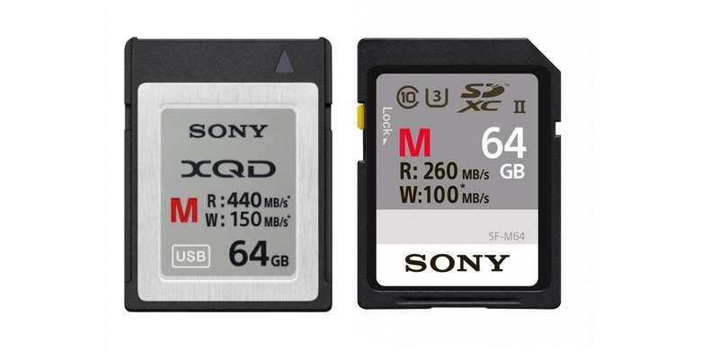 Sony dévoile de nouvelles cartes XQD et SD optimisées pour les apn haut de gamme