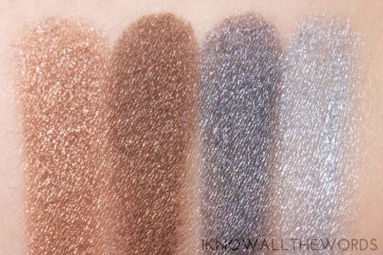 youngblood mineral eyeshadow quad glamour-eyes swatches (1)