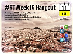 #RTWeek16 Thursday Hangout with Antonis Petropoulos