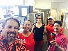Hawaiian Electric Companies Go Red for Women! - Feb. 5, 2016