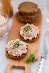 Smoked Salmon, Cream Cheese, Dill and Horseradish…