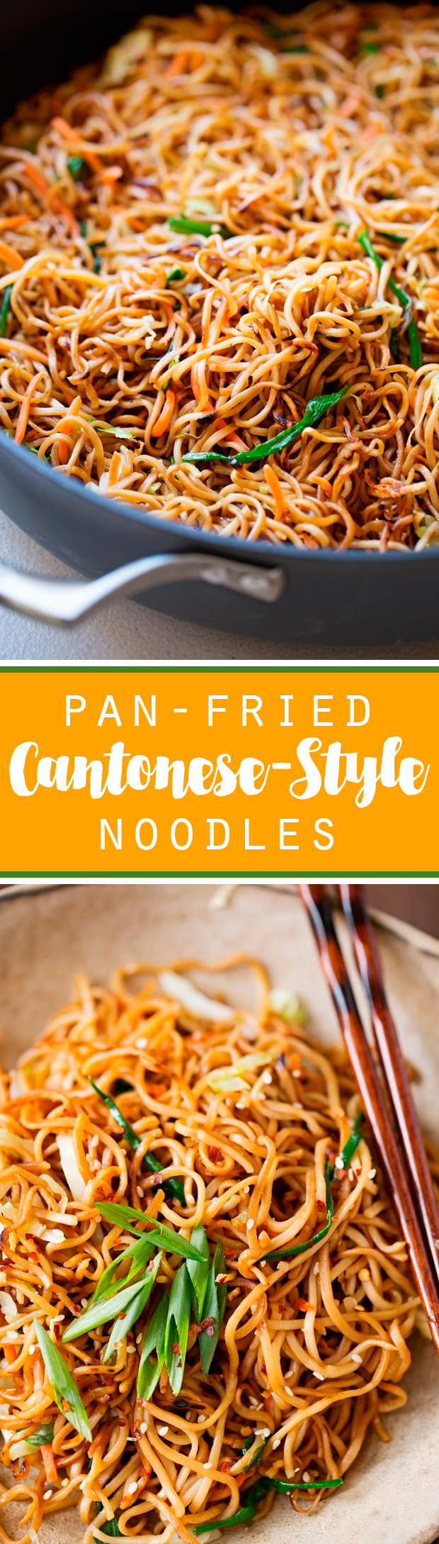 Cantonese Style Pan Fried Noodles Recipe Little Spice Jar