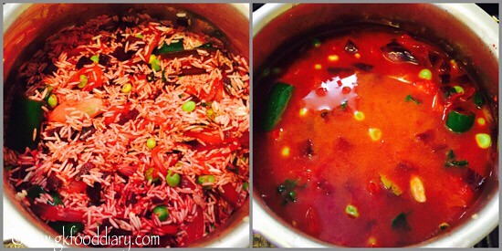 Beetroot Pulao Recipe for Babies, Toddlers and Kids - step 6