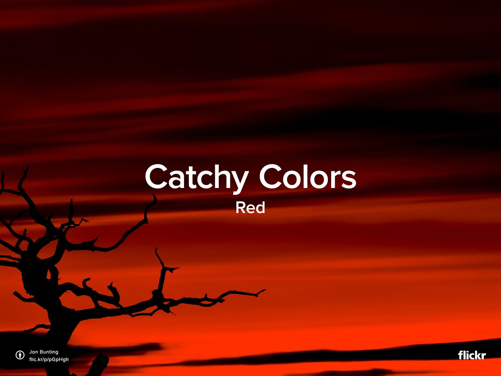 Catchy Colors: Red