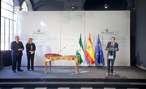 Toma de posesión del rector Miguel Ángel Castro - Junta de Andalucía
