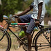 Cyclist in Malawi, East Africa by Bicycle Photography