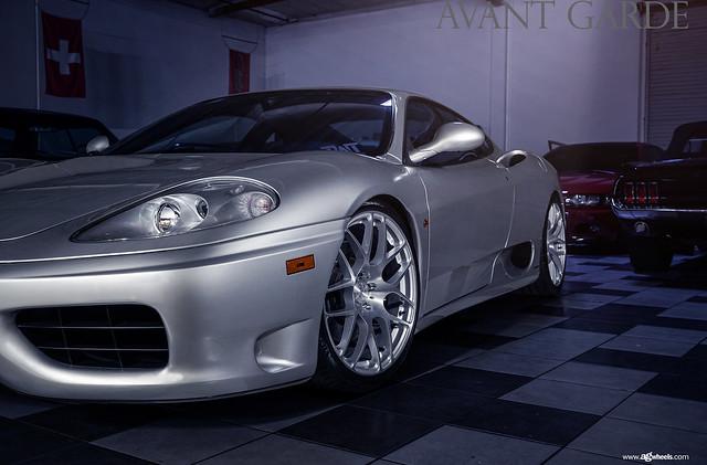 "360 Modena - Brushed Liquid Silver 19"" M610"