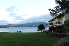 Pebble Beach Lodge Overlooking 18th Hole